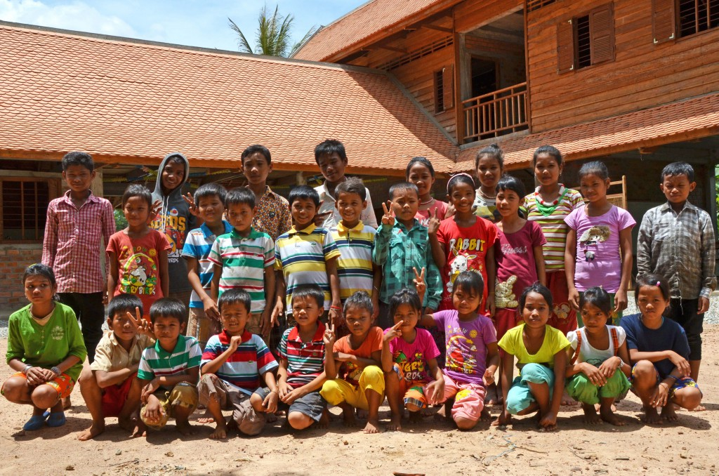 Children at education centre