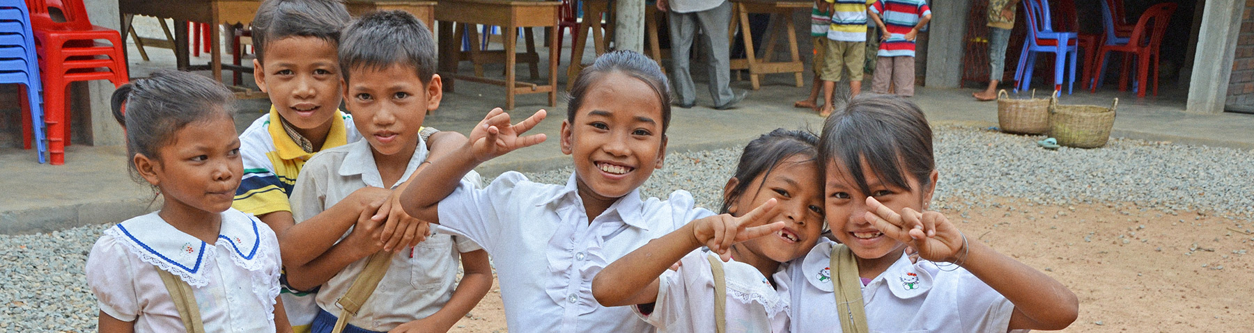 Opportunity Cambodia Students having fun